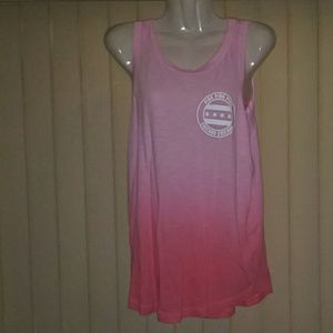 LIKE NEW VICTORIA SECRET PINK CHICAGO TANK TOP